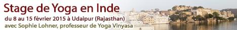 Stage de Yoga en Inde du 8 au 15 Fev. 2015