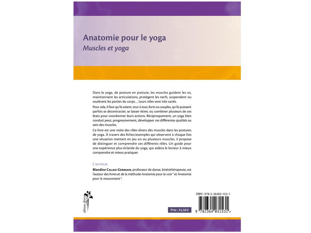 Anatomie pour le Yoga - Muscles et Yoga Blandine Calais-Germain