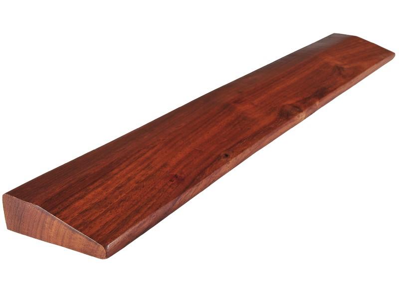 Bloc de yoga en bois de Sésame Slanting plank 60cm x 9cm x 3cm