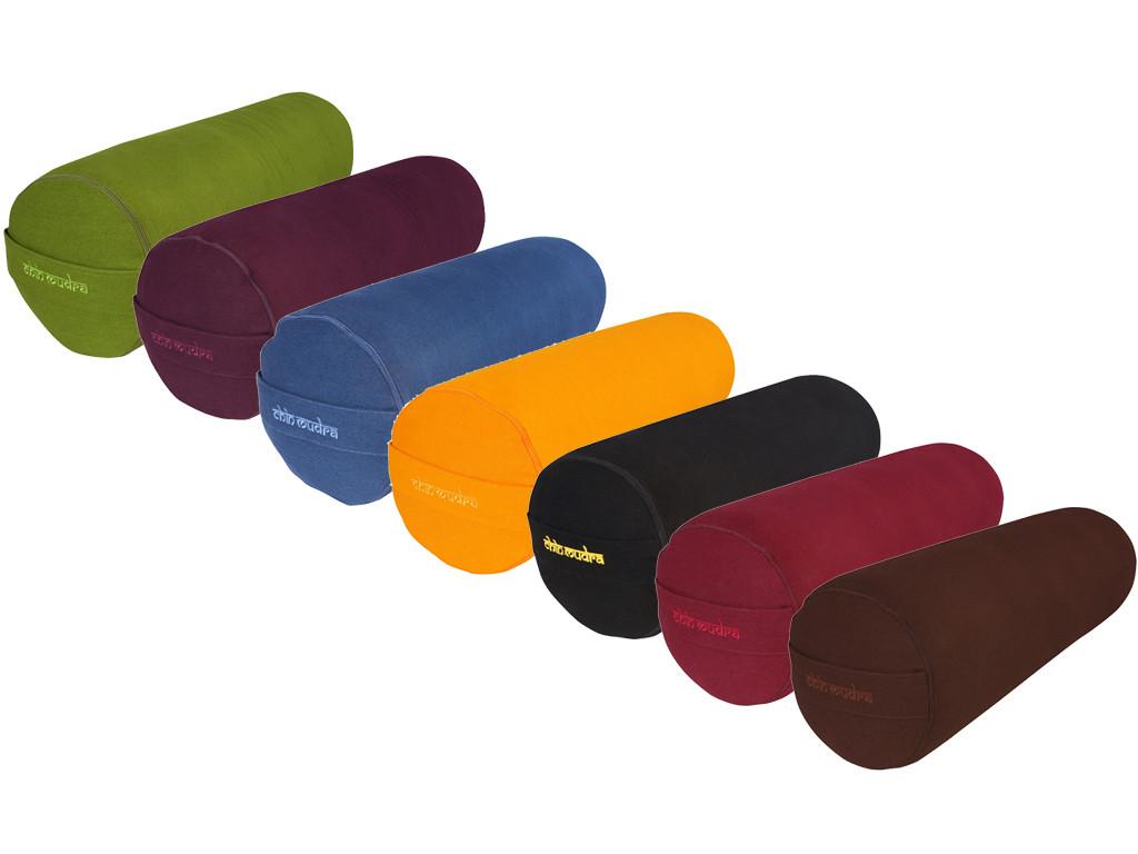 Bolster de yoga XL 100 % coton Bio 76 cm x 25 cm Lot 6