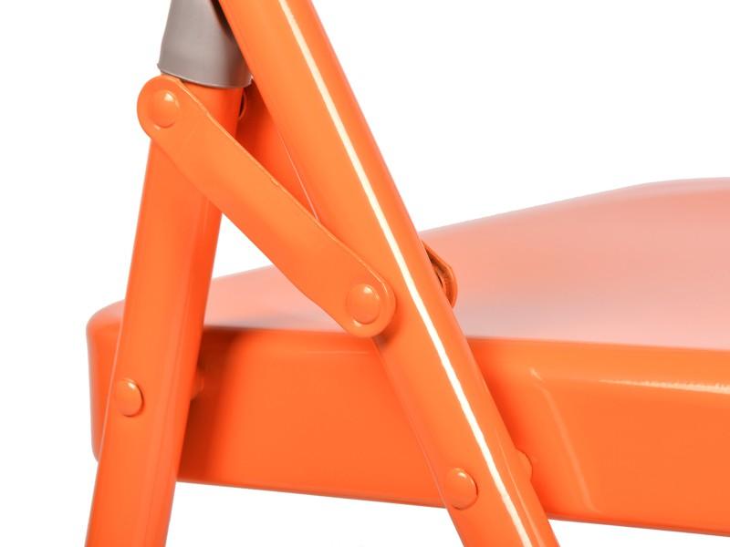 Chaise de Yoga 1 barre Orange