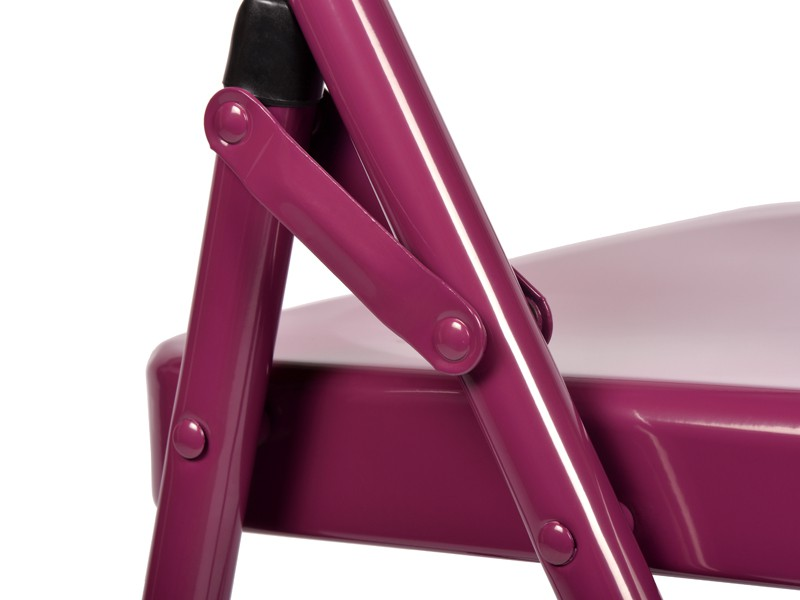 Chaise de Yoga 1 barre Prune