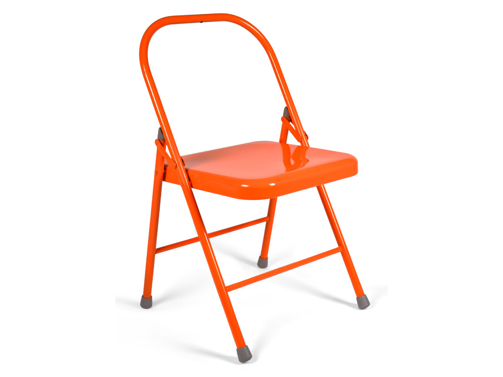 Chaise de Yoga 2 barres Orange