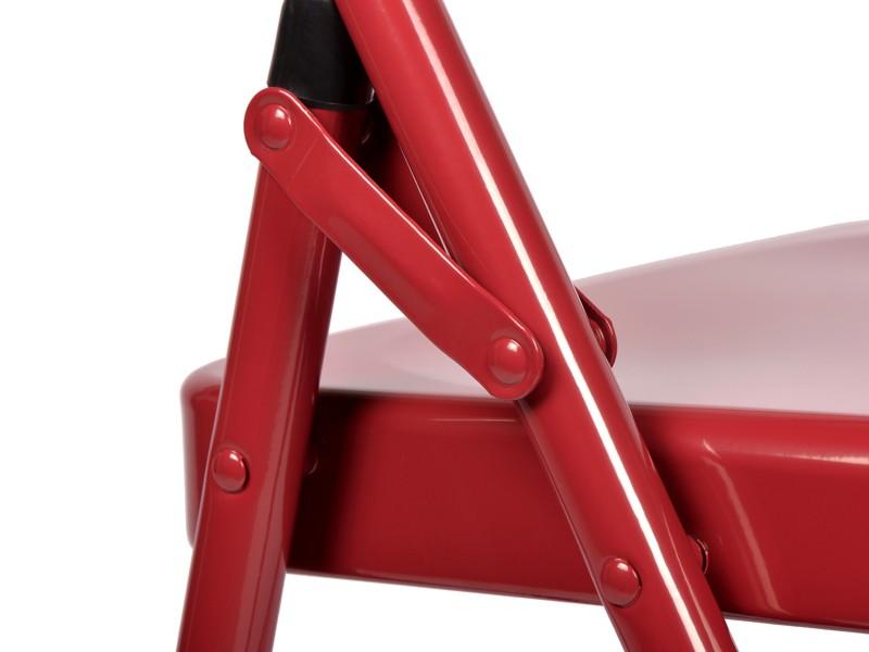 Chaise de Yoga 2 barres Bordeaux