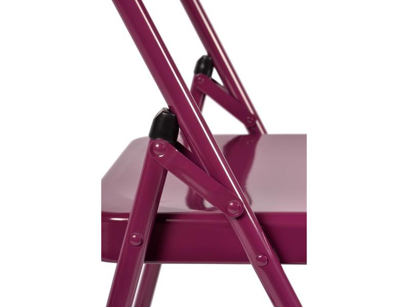 Chaise de Yoga 2 barres Prune
