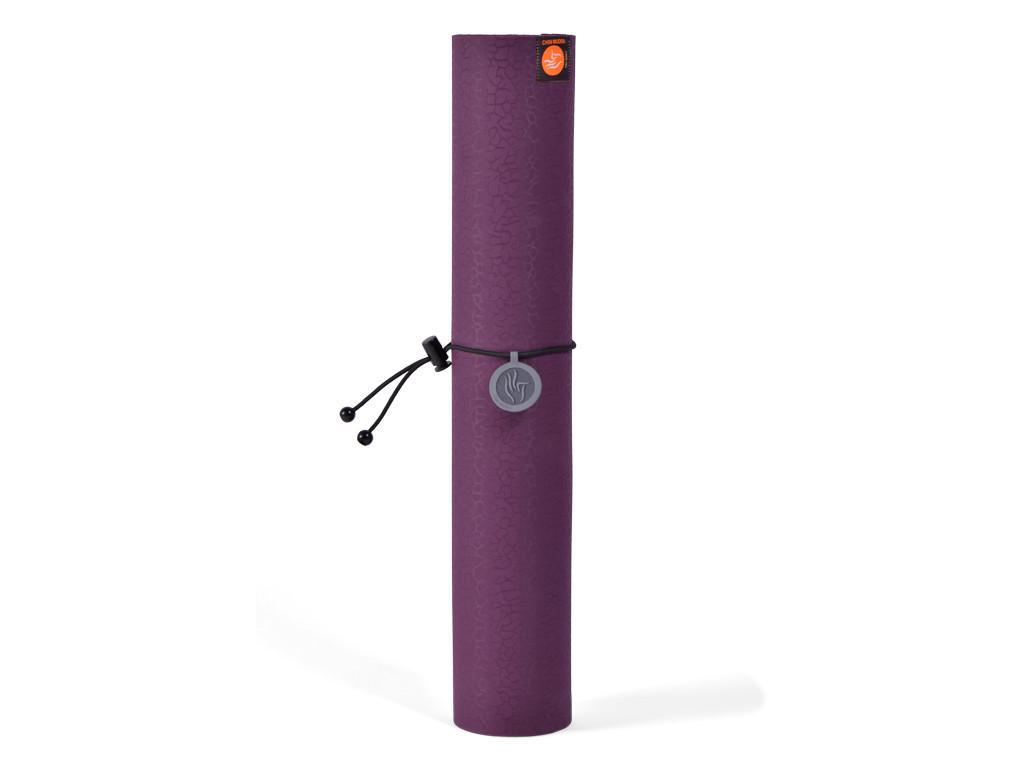 Cordon élastique pour tapis de yoga Noir
