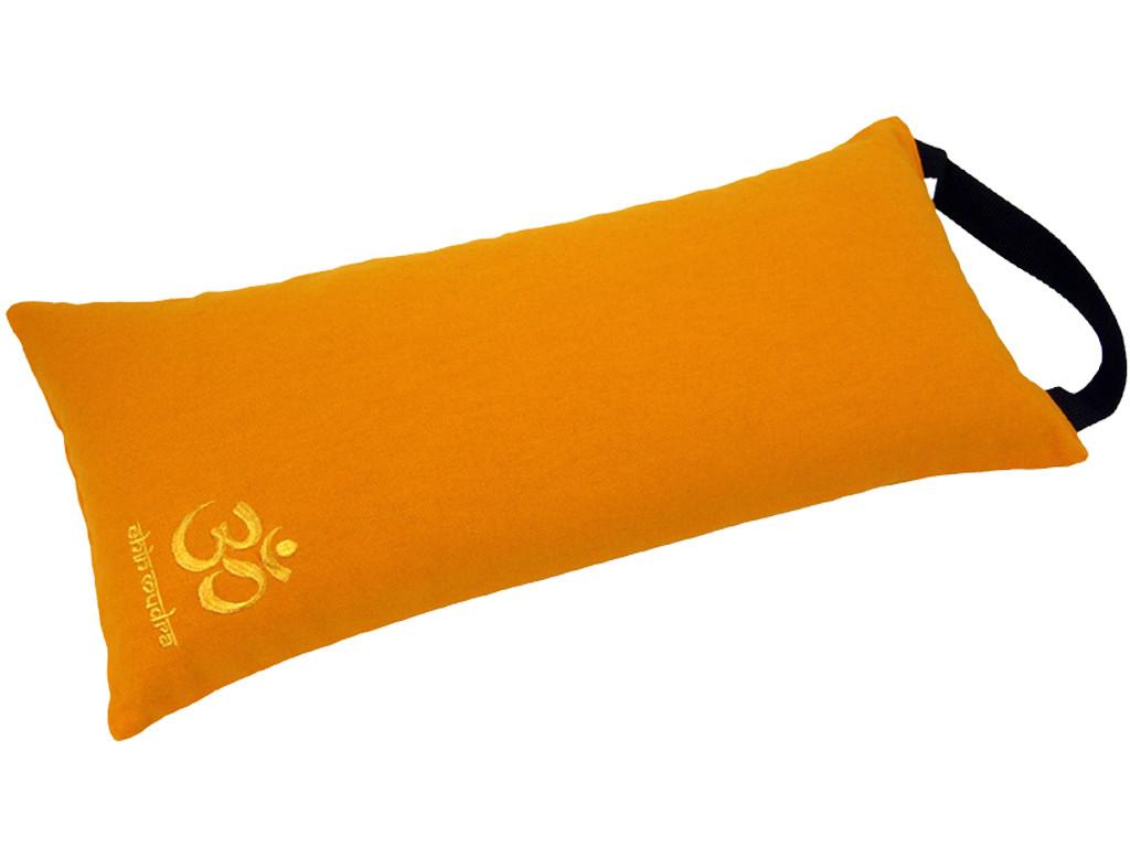 Coussin de voyage 100% coton Bio Orange Safran