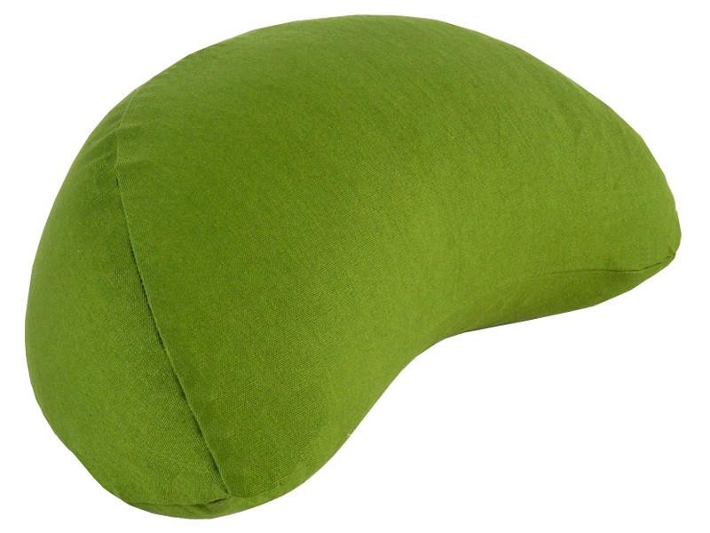 Coussin Fuzen (demi-lune) 100% coton Bio Vert