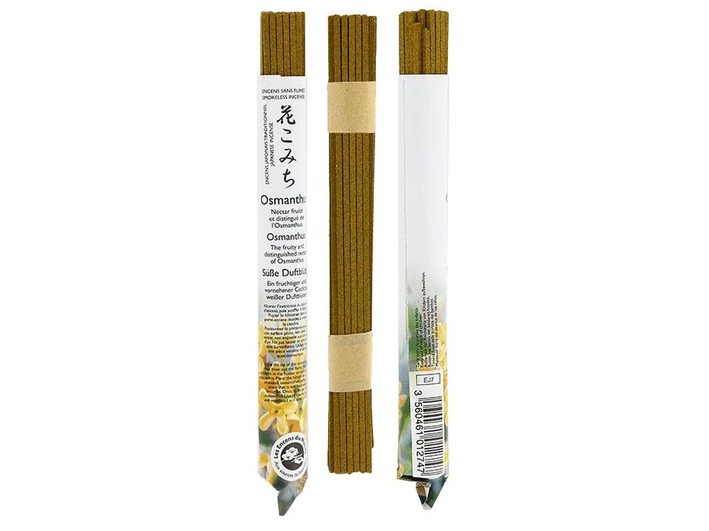 Encens Japonais ''sans fumée'' Osmanthe 35 bâtonnets x 30 min