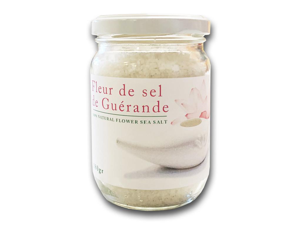 Fleur de sel de Guérande 100% naturel 180gr