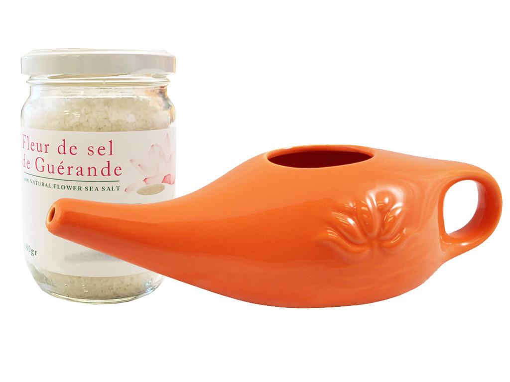 Kit Lota 250ml et Fleur de Sel Orange