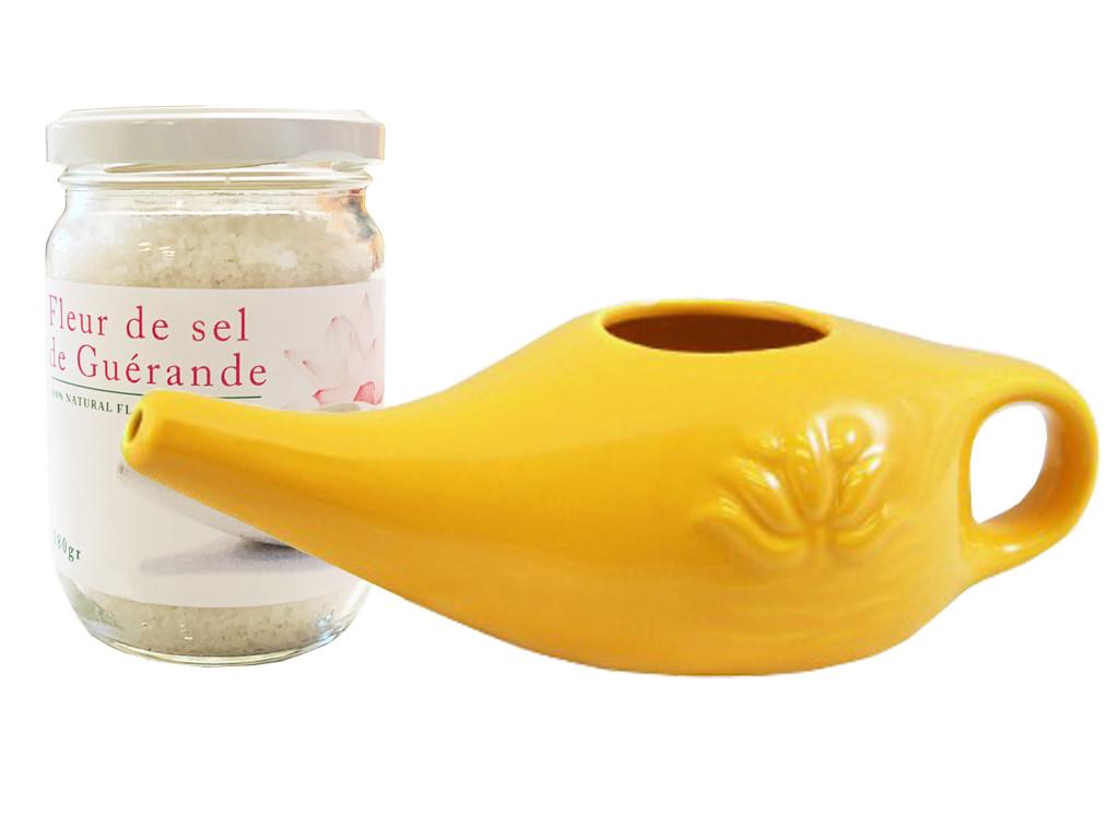 Kit Lota 250ml et Fleur de Sel Jaune Safran