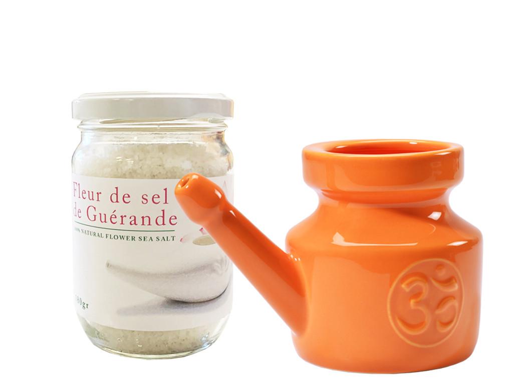 Kit Lota 400ml et Fleur de Sel Orange