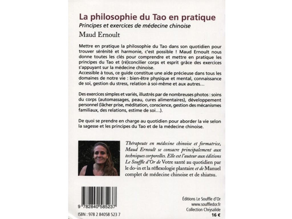 La Philisophie du Tao en Pratique Maud Ernoult