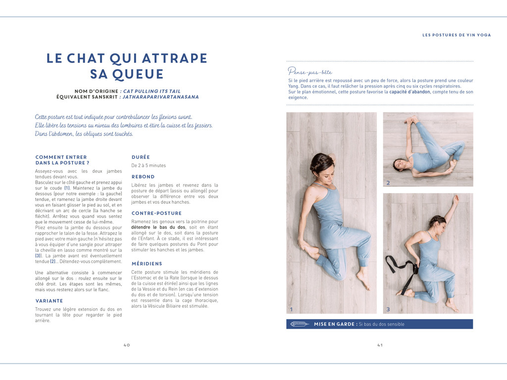 Le Yin Yoga - Eloge de la Lenteur Amélie Annoni
