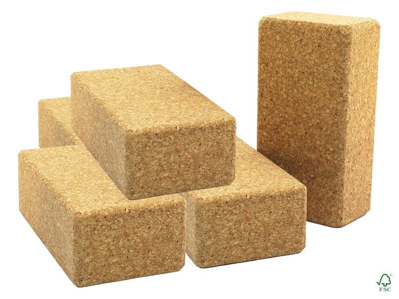 Briques liège Extra - 23cm x 12cm x 6.5cm Lot de 12