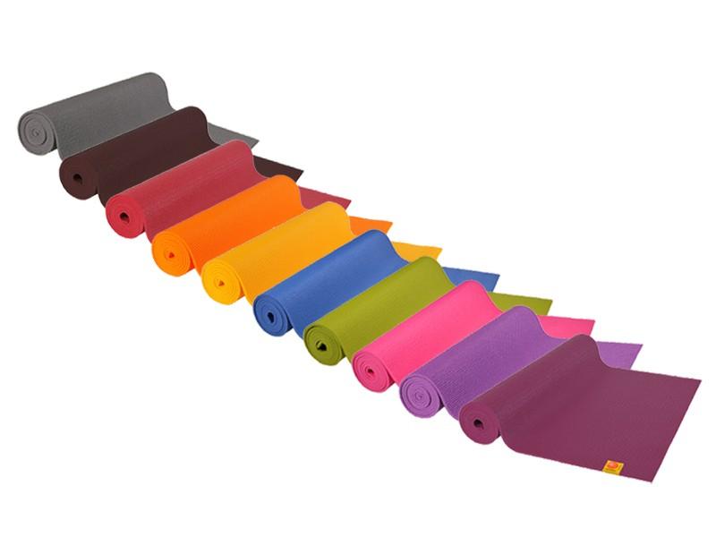 Tapis de yoga Confort Non toxiques - 183cm x 61cm x 6mm Lot de 6
