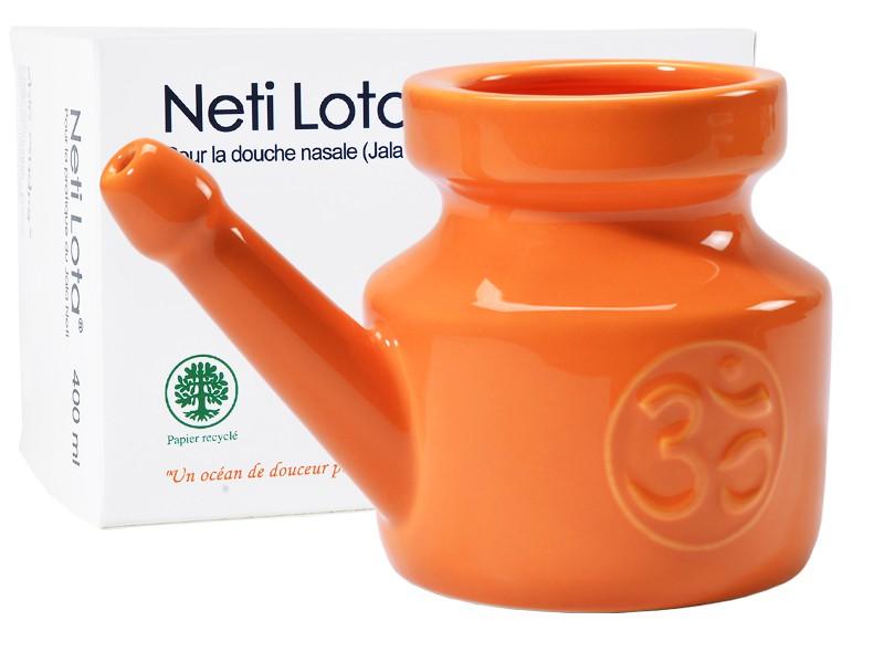 Lota Om en porcelaine émaillée 400ml Orange Safran