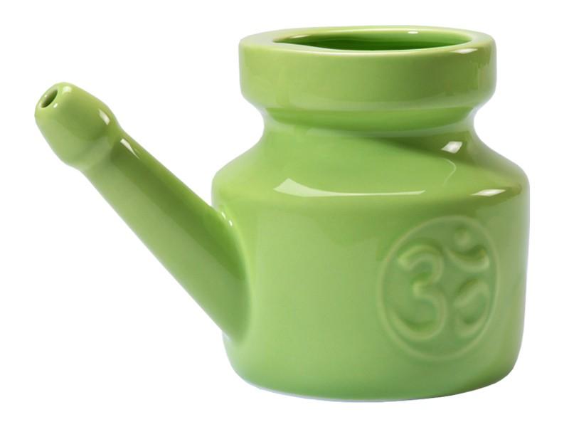 Lota Om en porcelaine émaillée 400ml Vert Amande