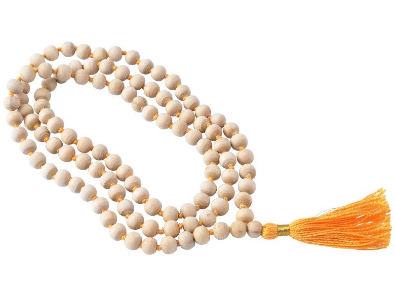 Mala 108 perles Tulsi 8mm