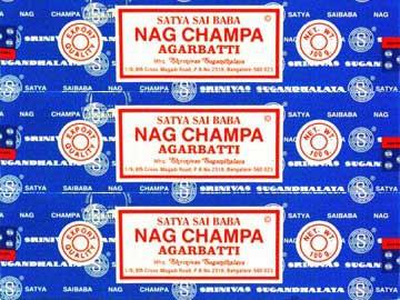 Nag Champa - 100gr x 6 boites Nag Champa