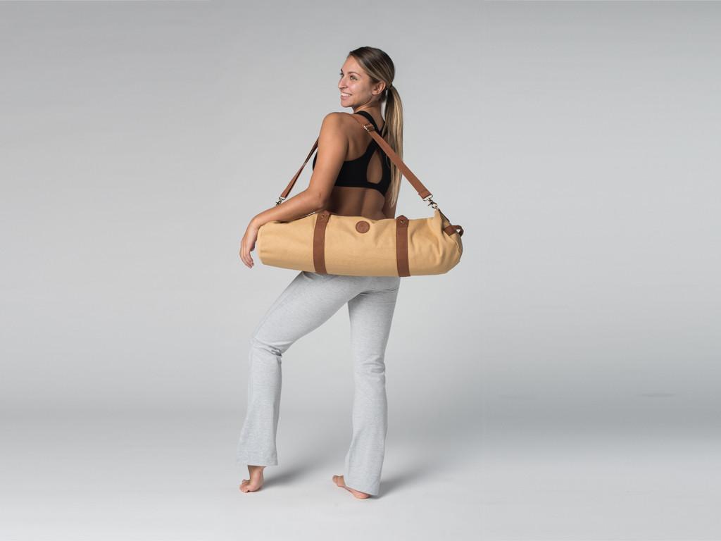 Pantalon de yoga Chic - 95% coton Bio et 5% Lycra Gris