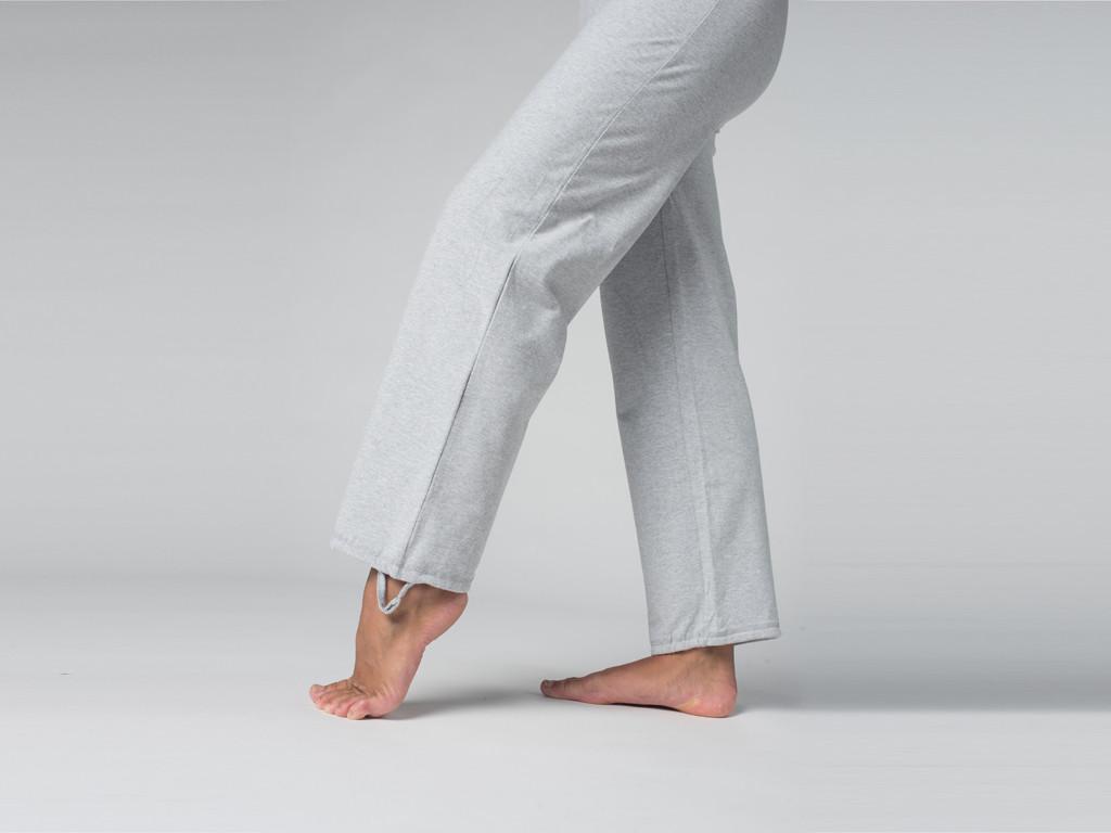 Pantalon de yoga Cool - 95% coton Bio et 5% Lycra Gris