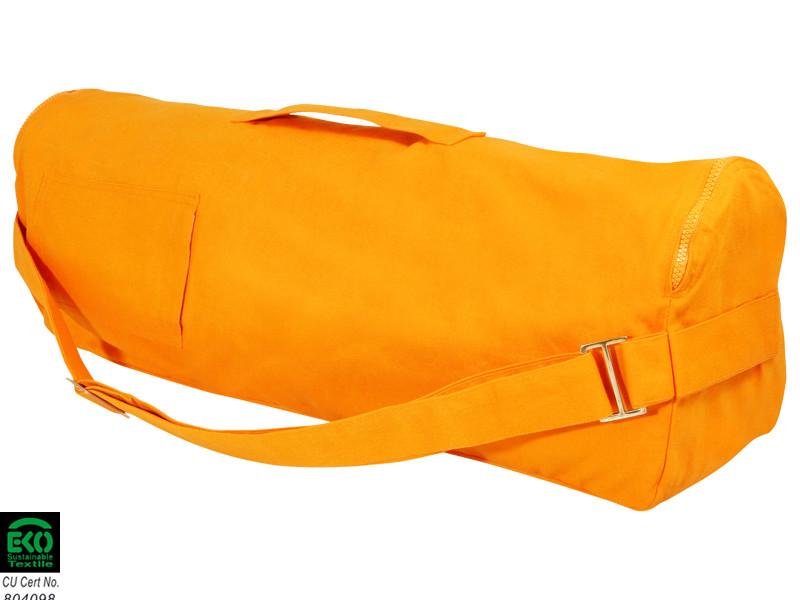 Sac à tapis de yoga Chic et Cool 100% Coton Bio 70cm x 17cm Safran