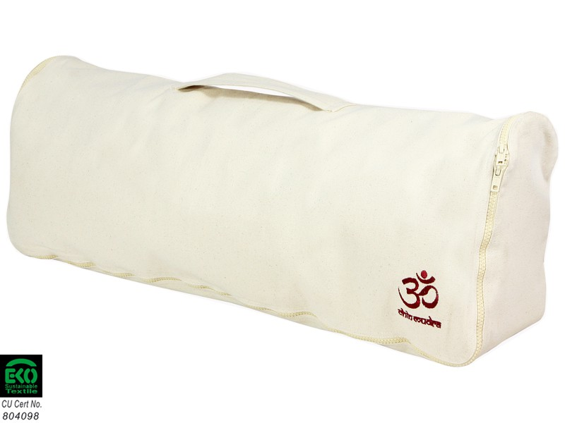 Sac à tapis de yoga Chic et Cool 100% Coton Bio 82cm x 17cm Nature