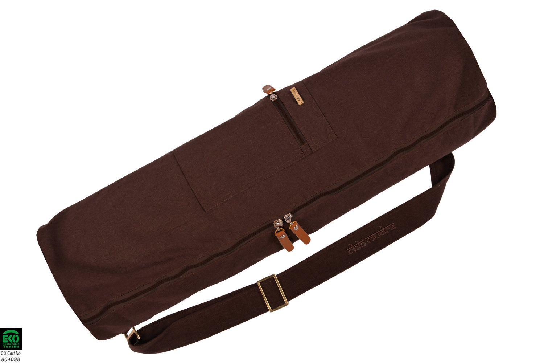 Sac à tapis de yoga Large-Bag 72cm X 22cm Chocolat