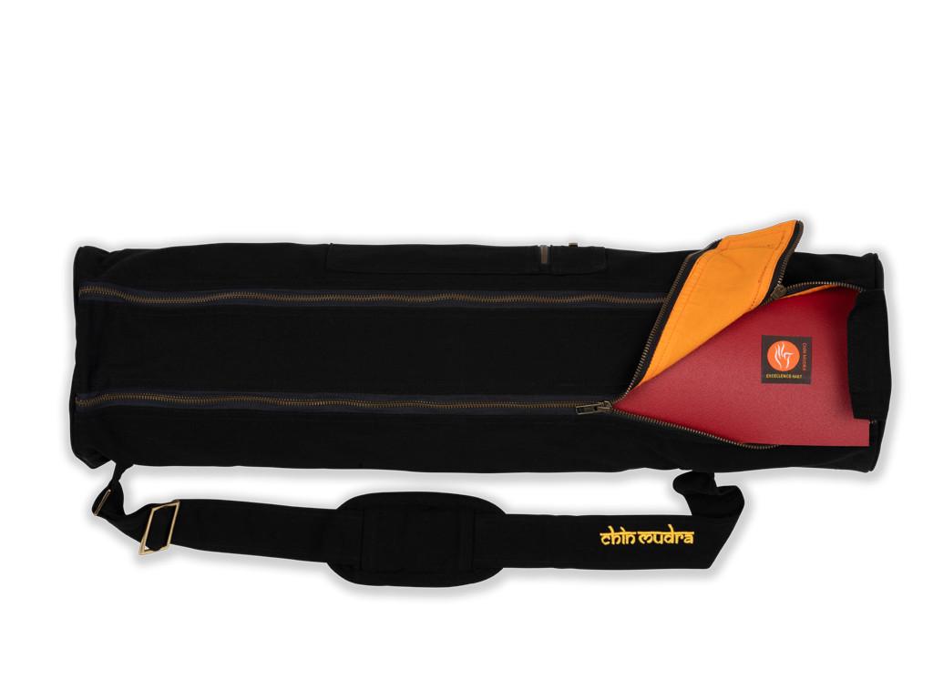 Sac à tapis de yoga Large-Bag 72cm X 22cm Noir
