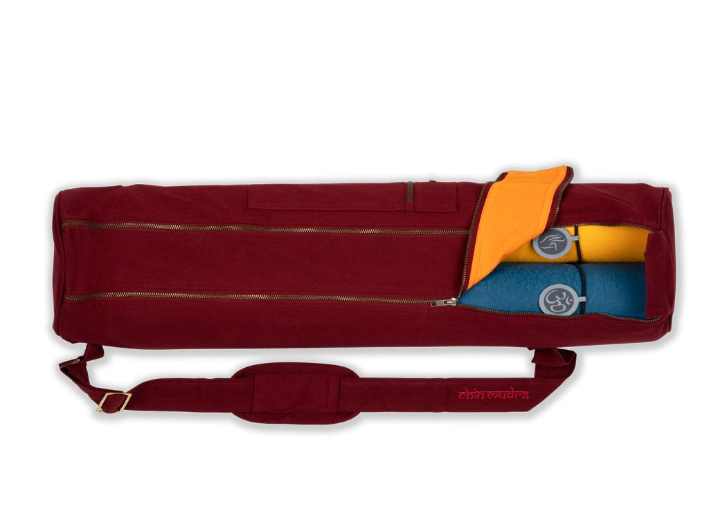 Sac à tapis de yoga Large-Bag 72cm X 22cm Bordeaux