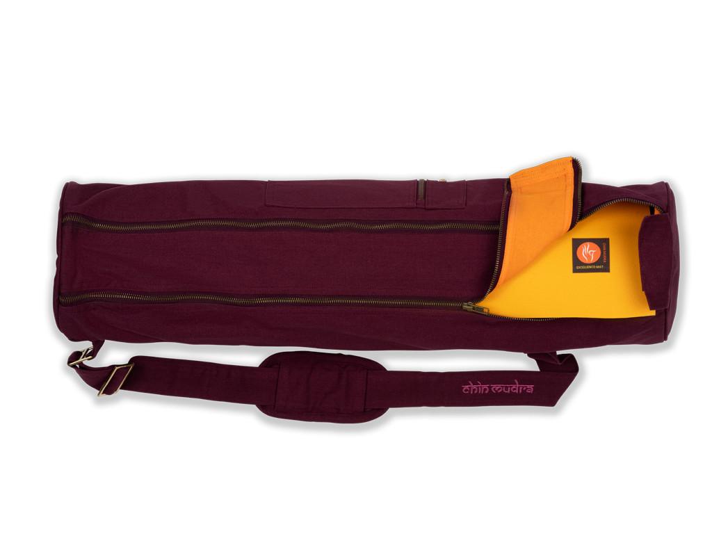 Sac à tapis de yoga Large-Bag 72cm X 22cm Prune