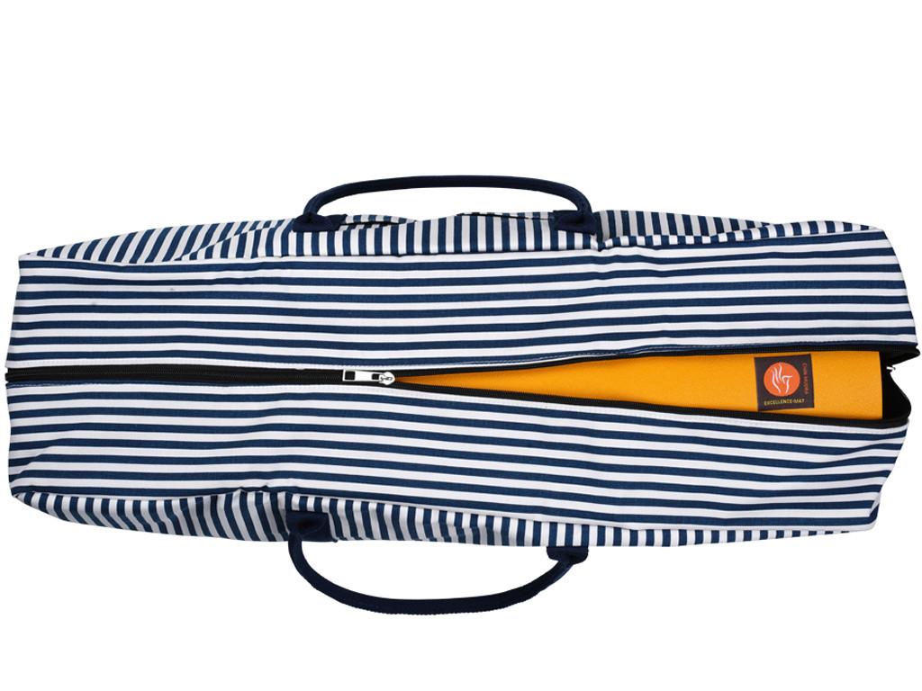 Sac Marinière coton Bio 68cm x 20cm x 20cm