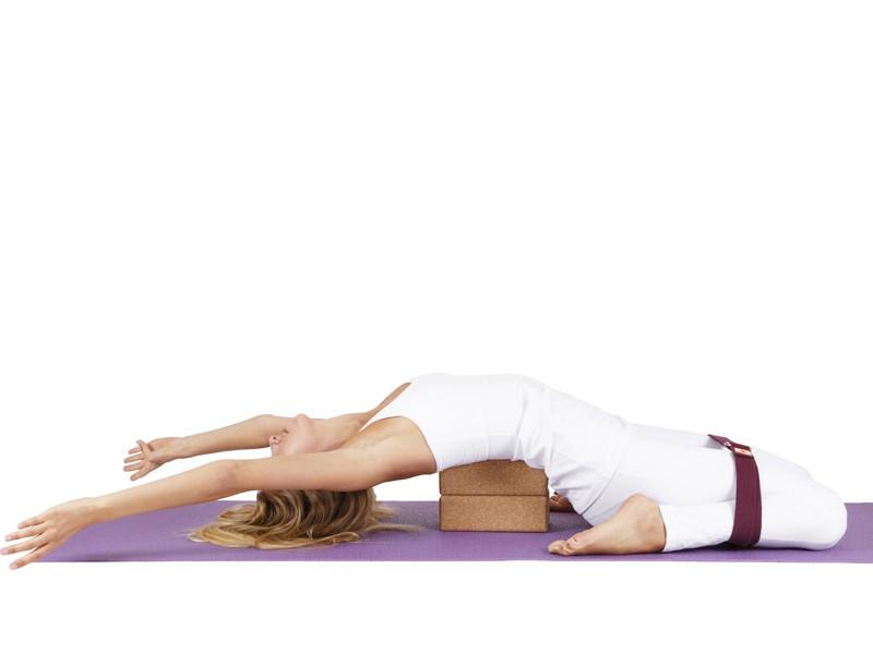 Sangle de yoga coton Bio boucle rectangulaire Noir
