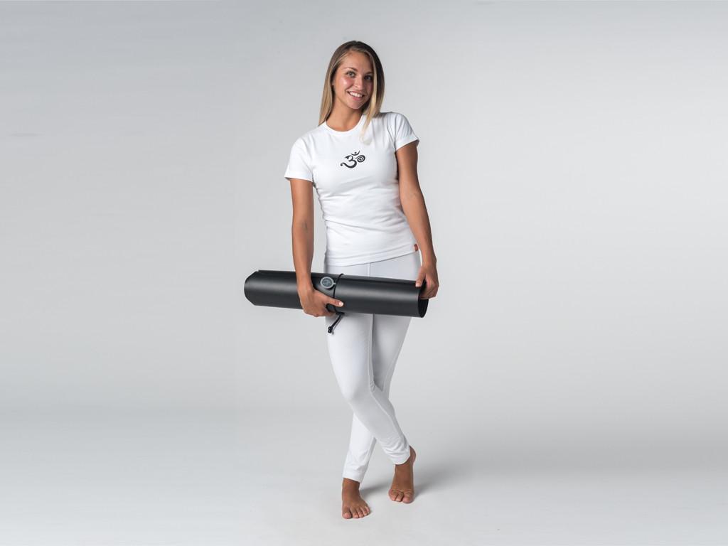T-shirt manches courtes coton Bio - Om Blanc