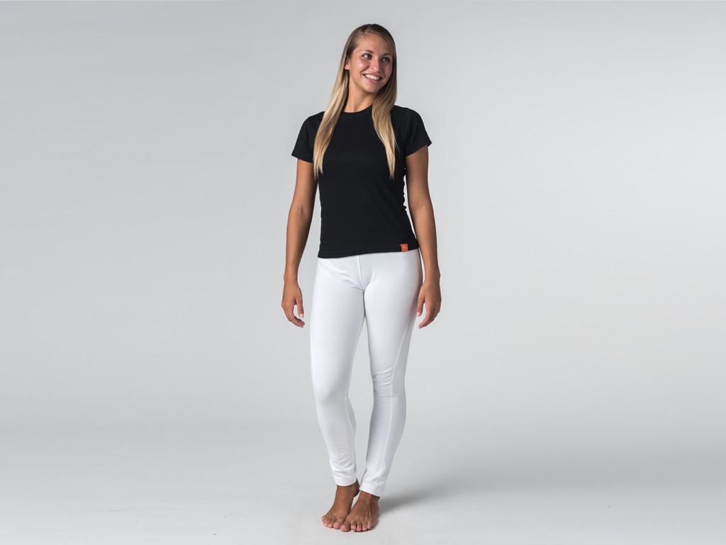 T-shirt manches courtes Tara 100% coton Bio Noir