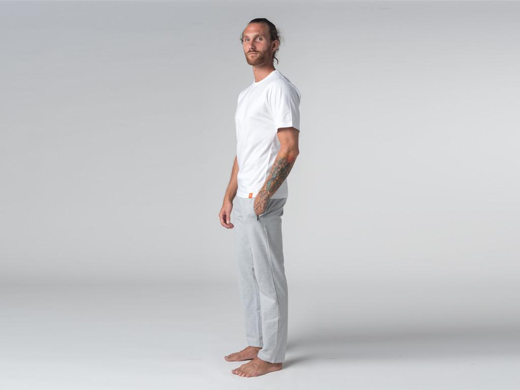 T-shirt Tapan 100% coton Bio - Manches courtes Blanc