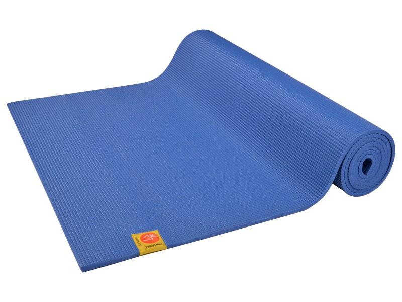 Tapis de yoga Confort Non toxiques - 183cm x 61cm x 6mm Bleu Indigo