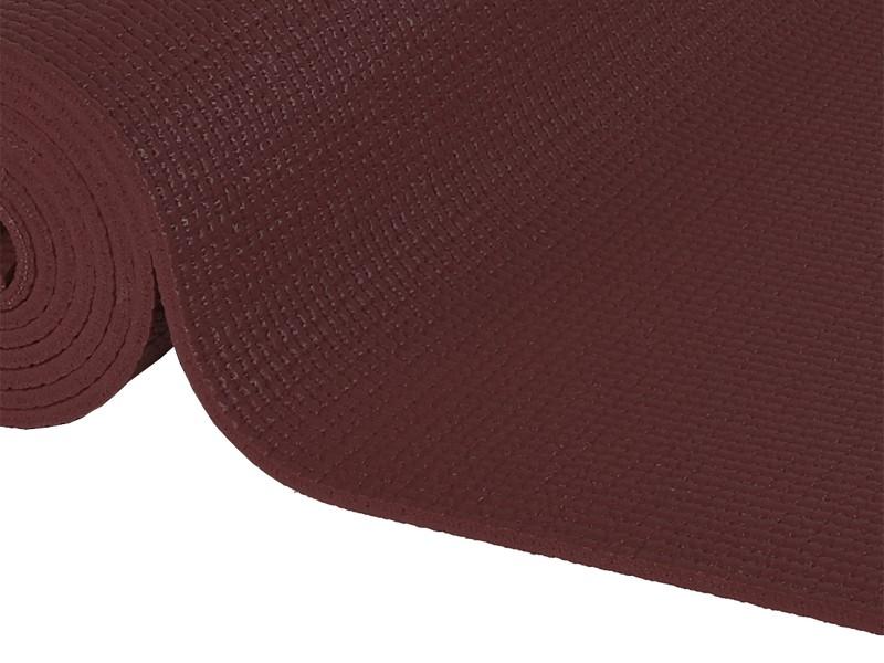 Tapis de yoga Confort Non toxiques - 183cm x 61cm x 6mm Chocolat
