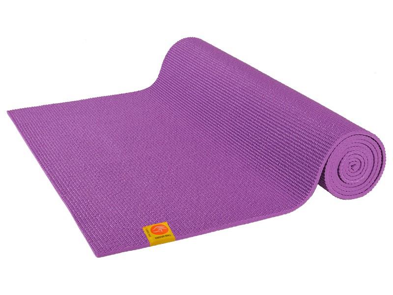 Tapis de yoga Confort Non toxiques - 183cm x 61cm x 6mm Mauve Orchidée