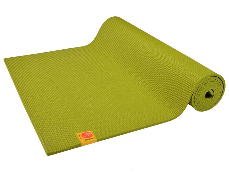 Tapis de yoga Confort Non toxiques - 183cm x 61cm x 6mm Vert citron