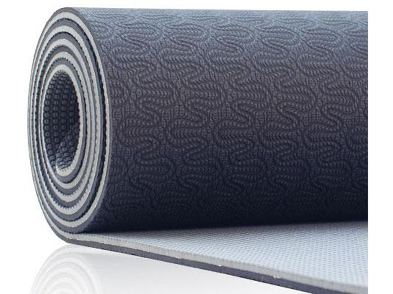Tapis de Yoga Eco-Terre 183 cm X 60 cm x 6 mm Mauve/Lila