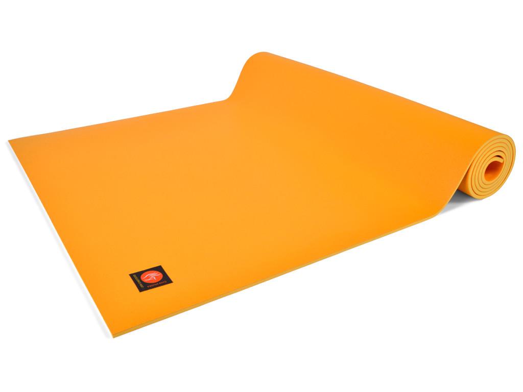 Tapis de yoga Excellence Mat 100% Latex - 4,5mm Jaune