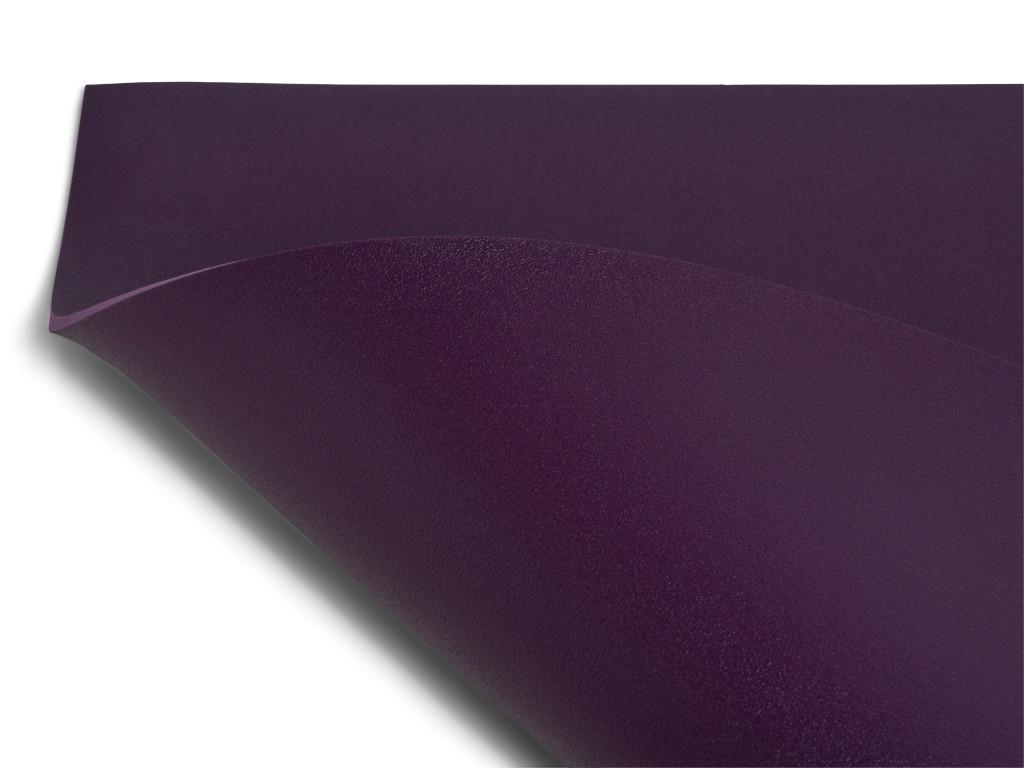 Tapis de yoga Excellence Mat 100% Latex - 4,5mm Prune
