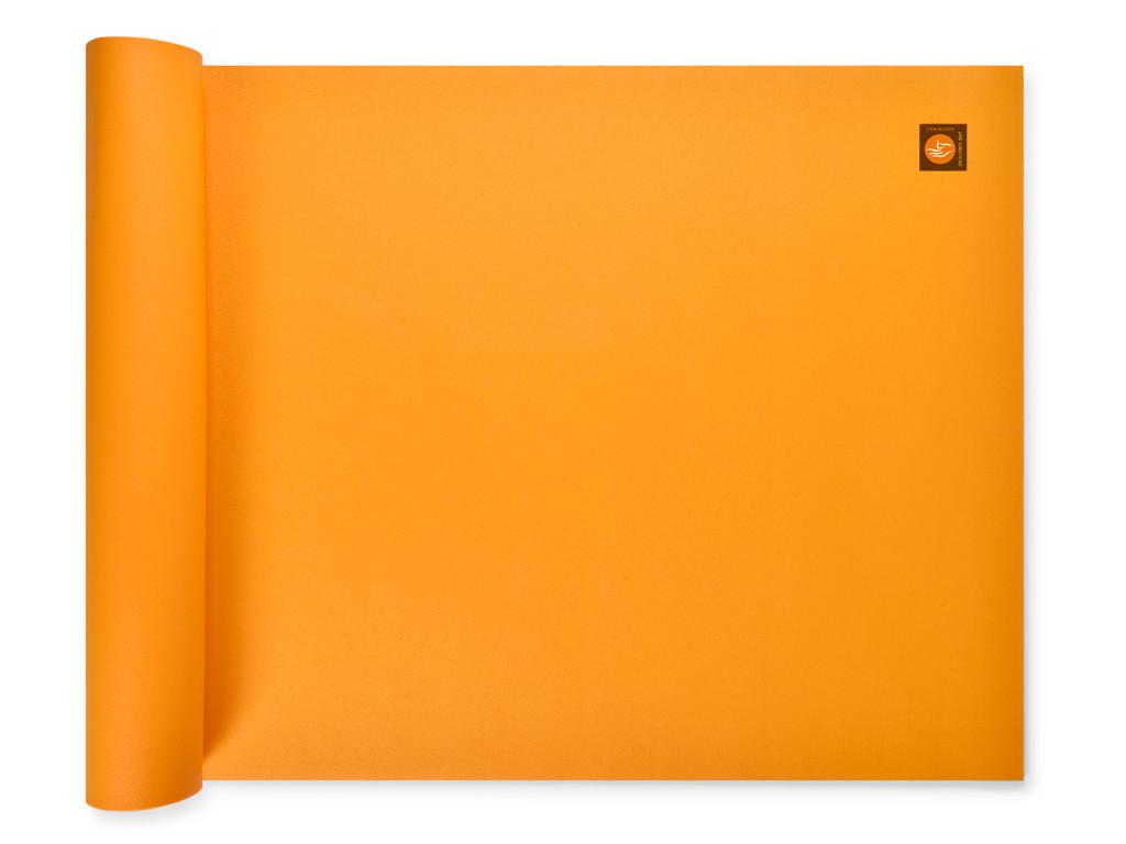 Tapis de yoga Excellence Mat 100% Latex - 6mm Jaune