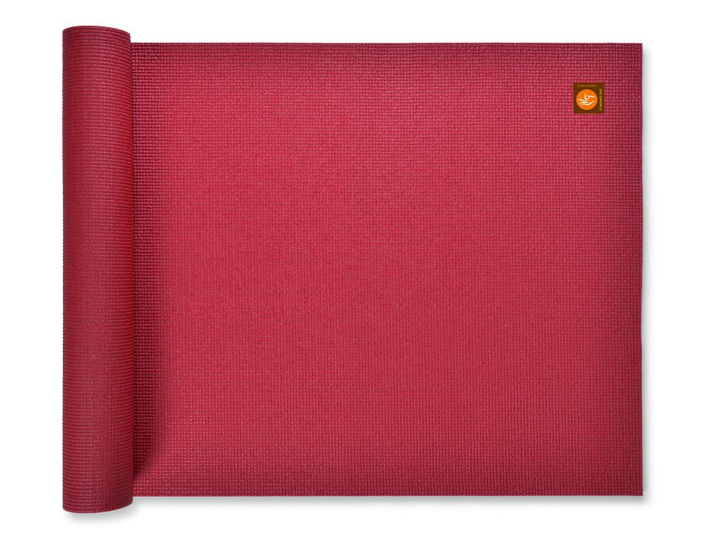 Tapis de yoga Extra-Mat - 185cm/220cm x 60cm x 4.5mm Bordeaux