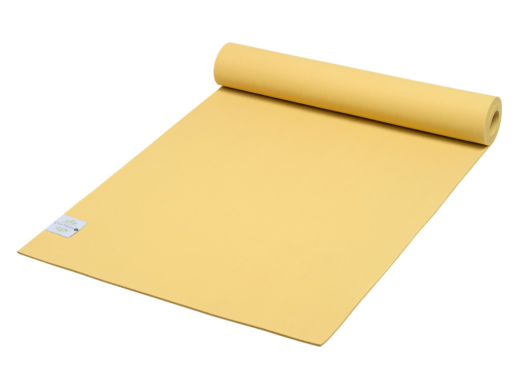 Tapis de Yoga Green Mat 5mm 183 cm x 61 cm x 5 mm - Jaune