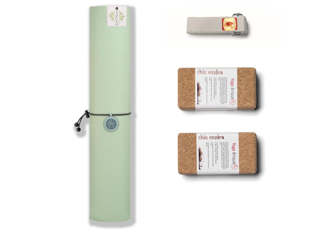 Tapis de Yoga Green Mat 5mm Vert