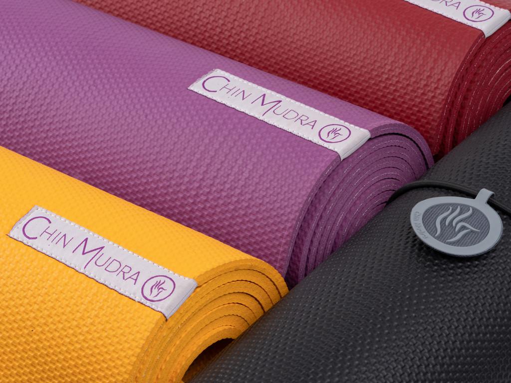 Tapis de Yoga Intensive-Mat 6mm 185 cm x 65 cm x 6.0 mm - Noir